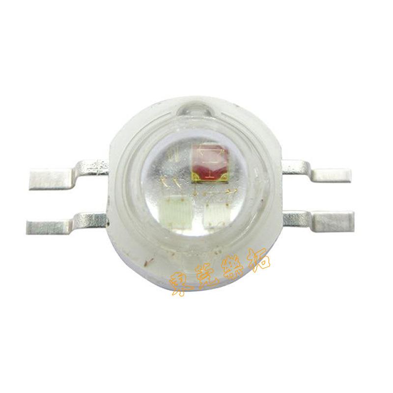 批发RGB全彩三合一大功率灯珠 仿流明大功率RGBLED灯珠