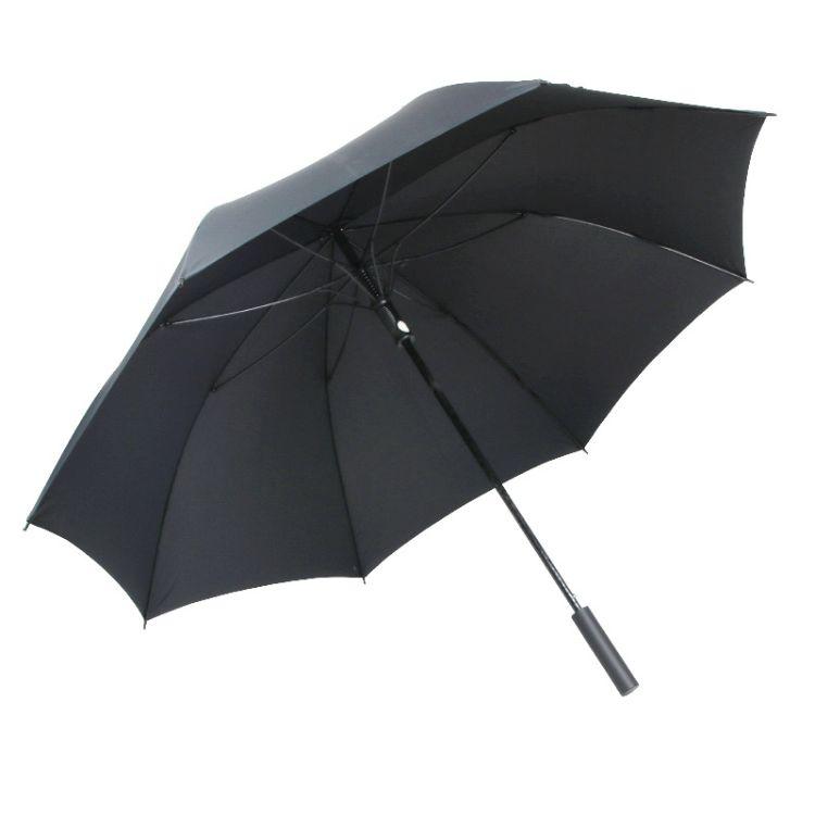 一件代发自动高尔夫伞 75CM加大广告伞 创意纤维雨伞可选可定制