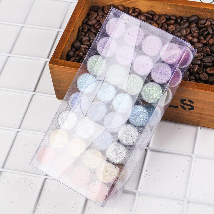 供应优质5克瓶装PVC彩色闪光片 瓶装彩色亮片