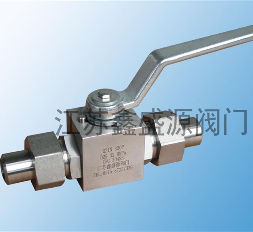 海南加气站不锈钢球阀厂家专业生产不锈钢Q21N焊接式高压球阀