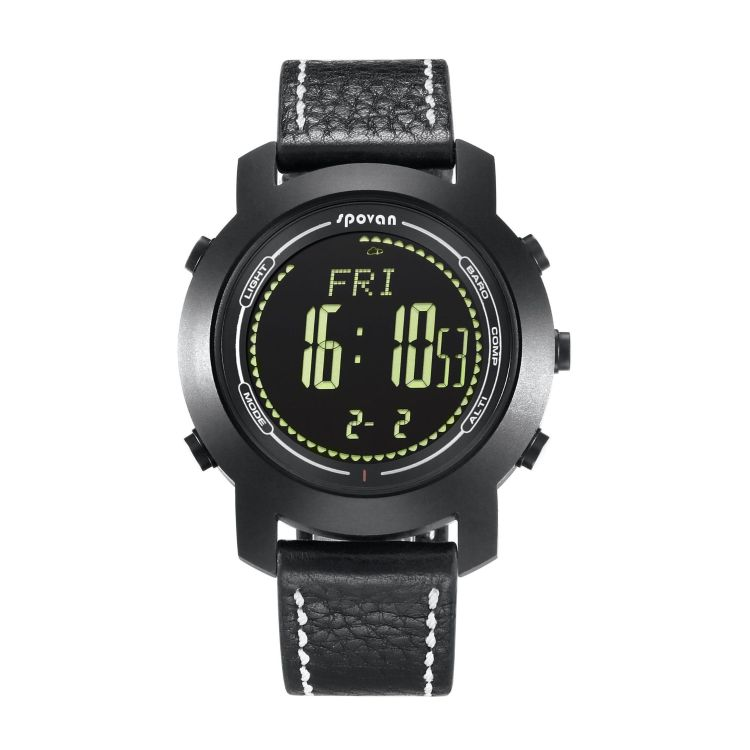 SOVAN 户外运动智能手表 多功能防水夜光海拔表 跨境新款 指南针