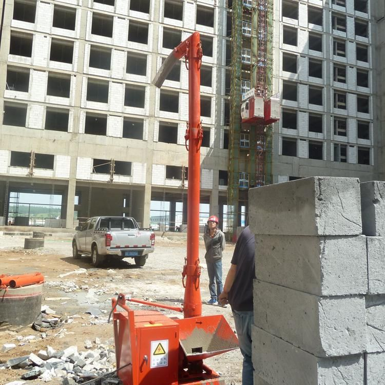 楼层二次结构柱输送泵  室内二次构造柱混凝土泵  小型浇筑二次结构柱泵