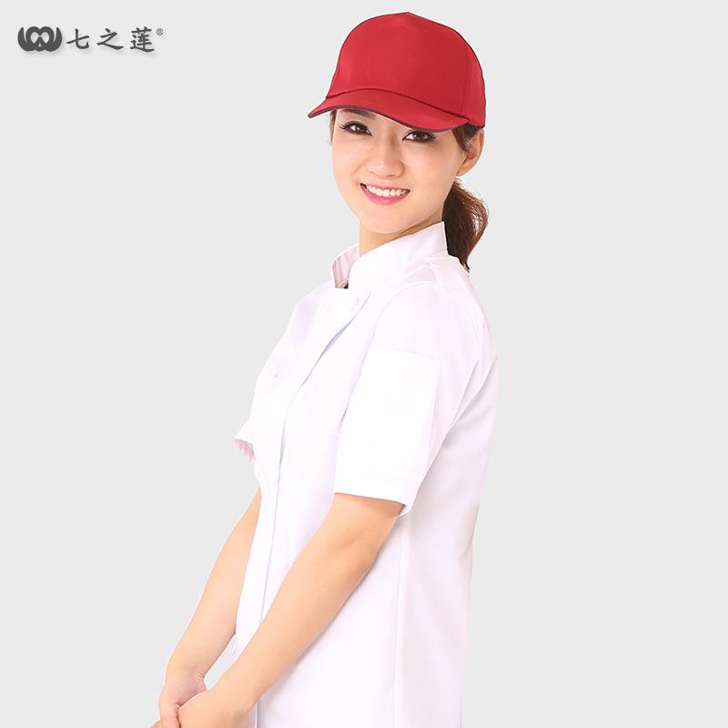 新款制服呢长鸭舌帽 11021男款工厂工人批量工作帽定制绣字