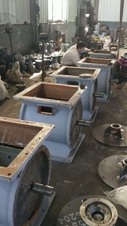 星型卸料器 卸灰阀 耐压耐高温型星型卸料器 锐驰朗环保