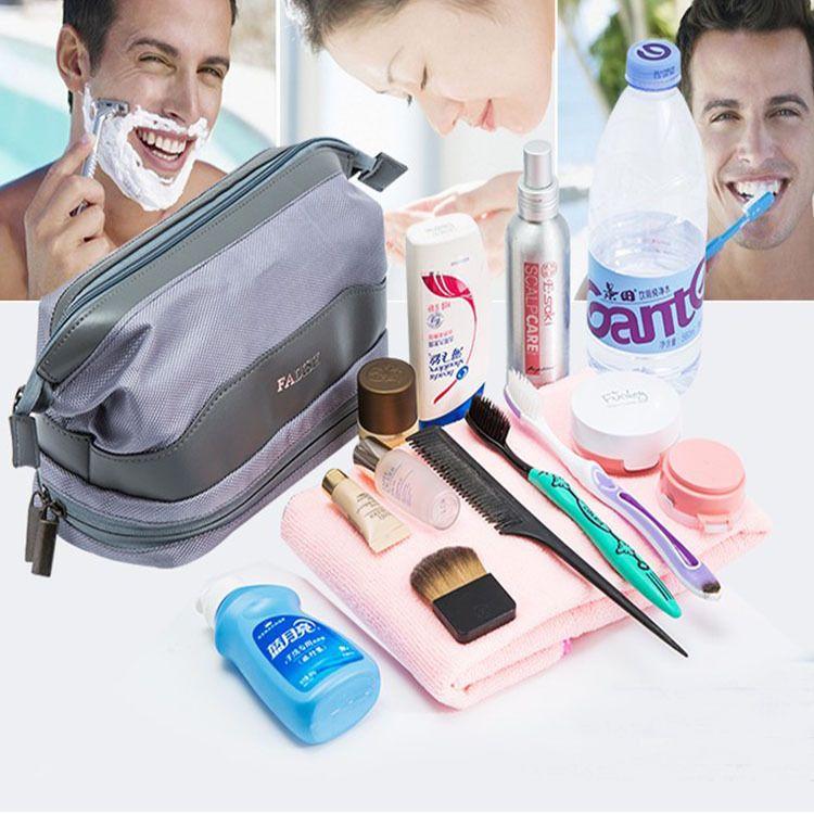 洗漱包男女出差健身收纳包防水化妆包袋浴兜洗澡包旅行用品