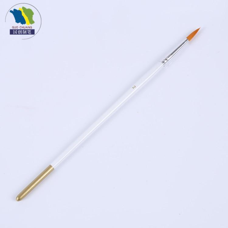厂家批发勾线画笔尼龙毛勾线笔 化妆尼龙毛 油画用品美术画笔刷