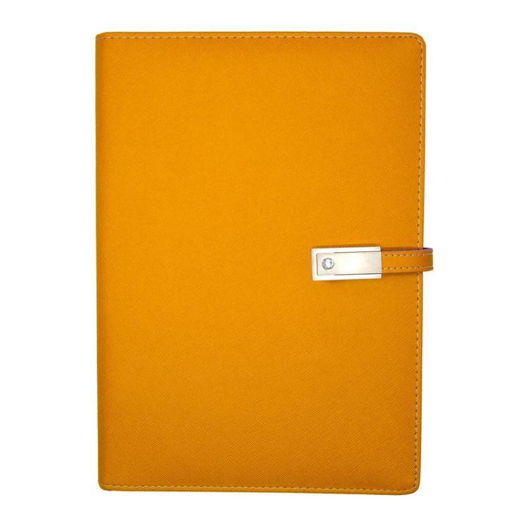 厂家供应可定制 创意文具带U盘充电宝笔记本移动电源活页记事本