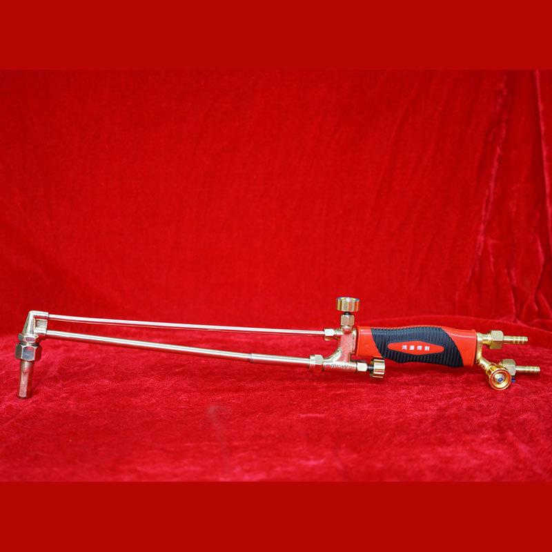 海立达 全铜射吸式割炬 不锈钢加长型氧气乙炔割枪