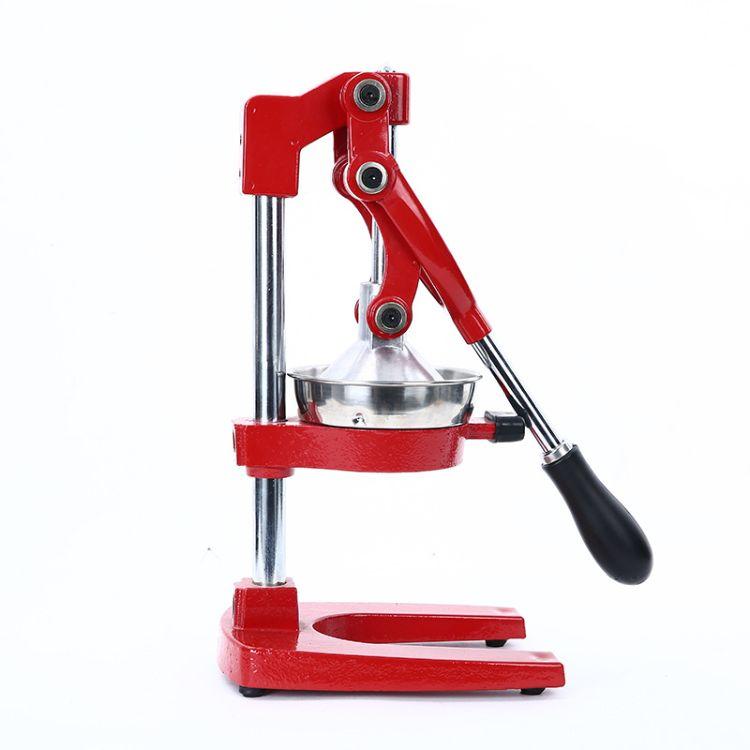 JUICER,手动压汁机,红色黑色商用手动榨汁机,不锈钢压榨机