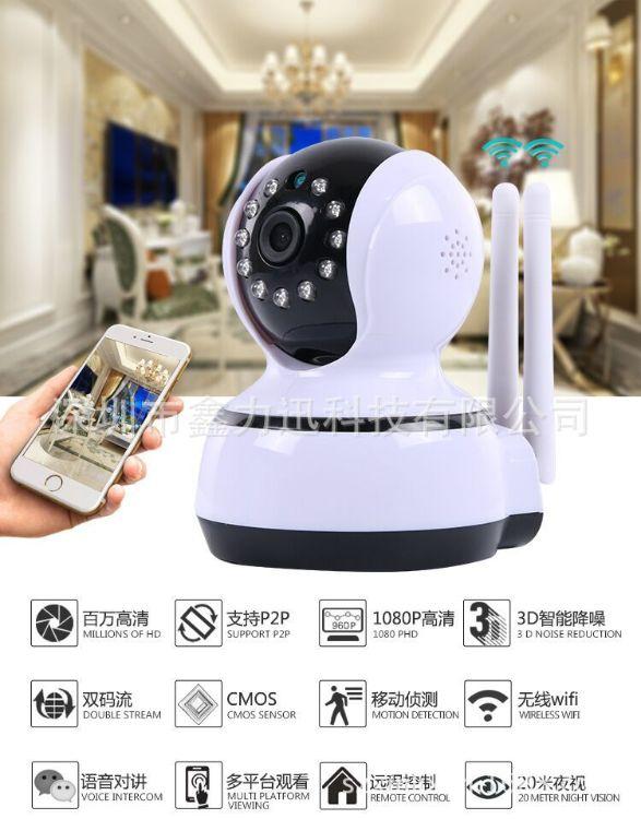 新款摇头机外壳 网络摄像机外壳 监控外壳套料 无线看有宝外壳
