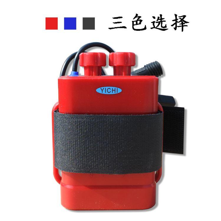 6节18650电池盒 带线USB5v/DC8.4v输出户外防水DIY锂电池盒