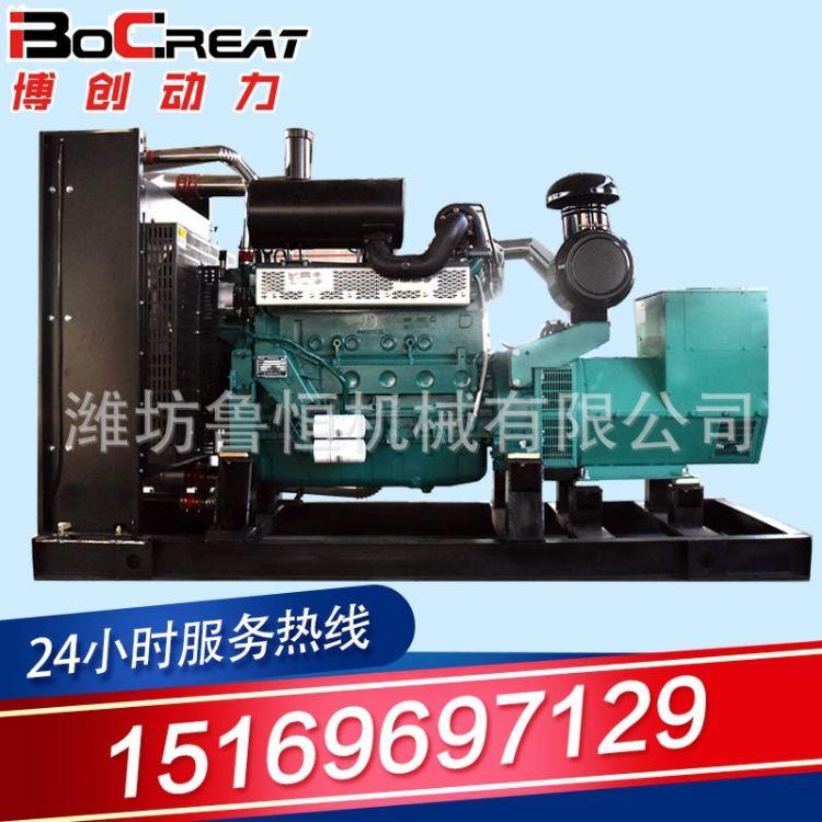 鲁恒机械燃气机组80KW 80千瓦燃气机组 无刷电机质量可靠 质保一年