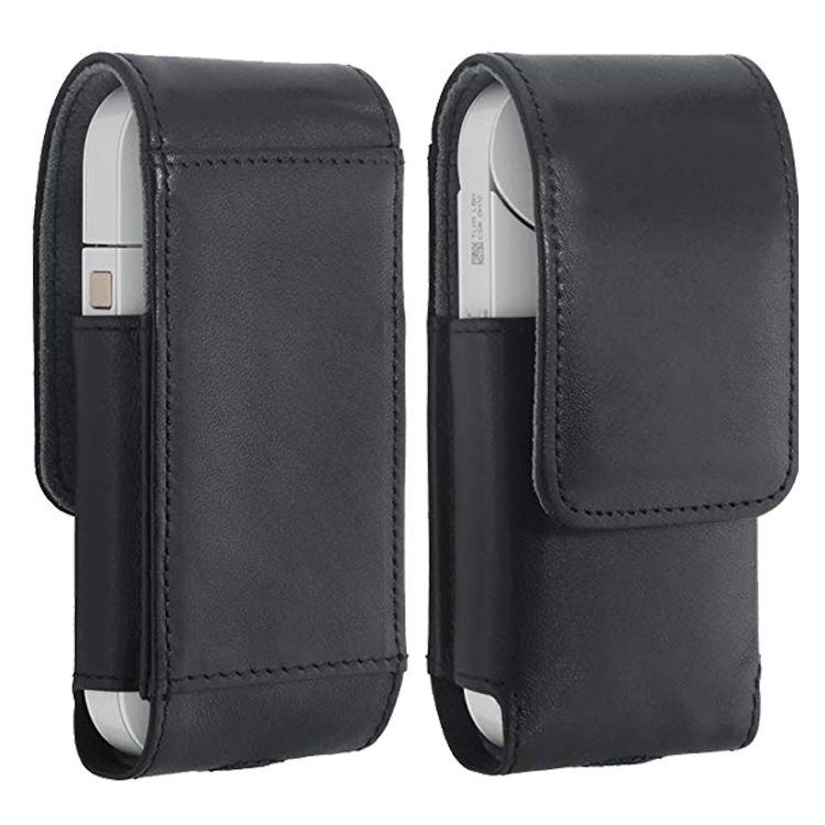 适用日本iqos二代三代电子烟皮套 牛皮直插保护套加工 iqos保护套