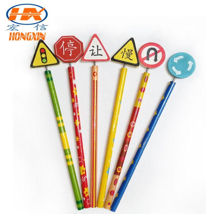 热销供应学生学习用品铅笔 多款卡通木质铅笔