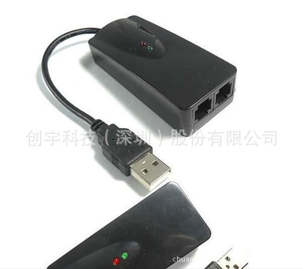 USB Fax 56K MODEM. 无纸化 传真收发器-临时议价 迷你调制器