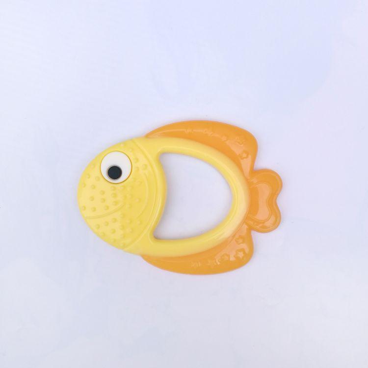 批发 硅胶母婴用品 小丑鱼安抚硅胶牙胶 婴儿磨牙母婴玩具