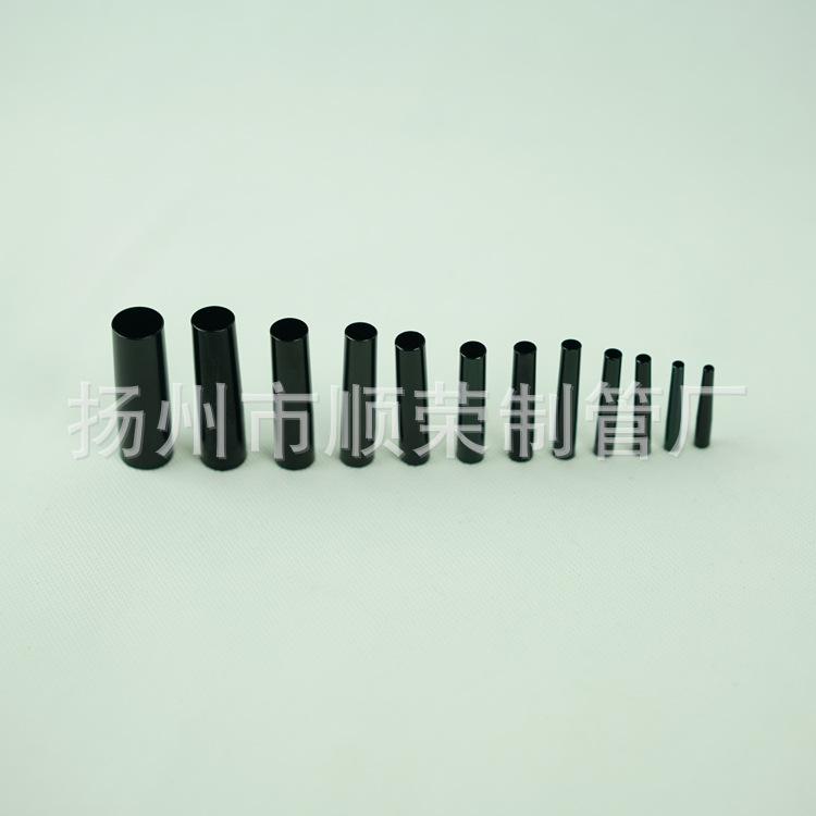 厂价直销黑色笔刷管学生用书写工具水粉笔专用笔配件铝毛细管定制