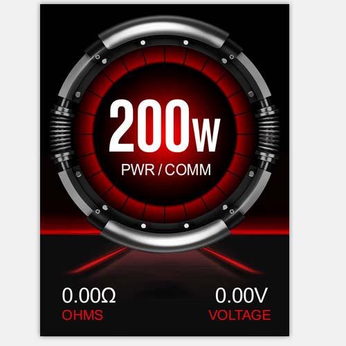 200W高清彩屏温控电子烟方案板版2寸 1.3寸高清厂家直销批发定制