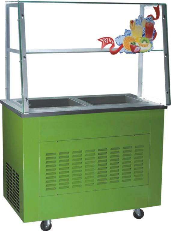现货 CB-1600水果炒冰机 商用炒冰机