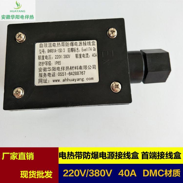 供应伴热带专用防爆电源接线盒BHR-81A-15D/3/4伴热电缆接线盒