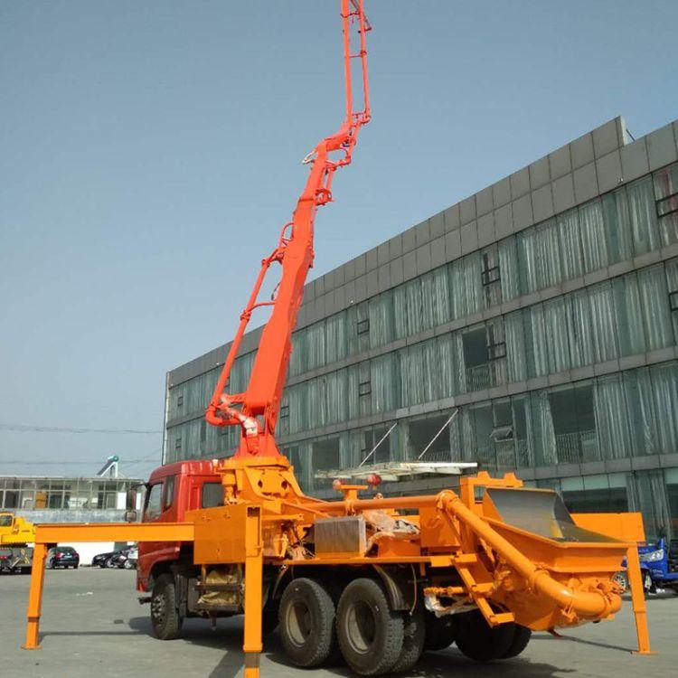 28米水泥泵车 28米混凝土泵 中型混凝土泵车