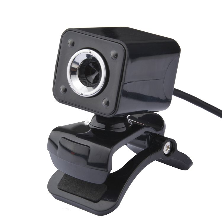 雅视迪厂家直销电脑高清摄像头USB麦克风摄像头圣诞节礼品爆款