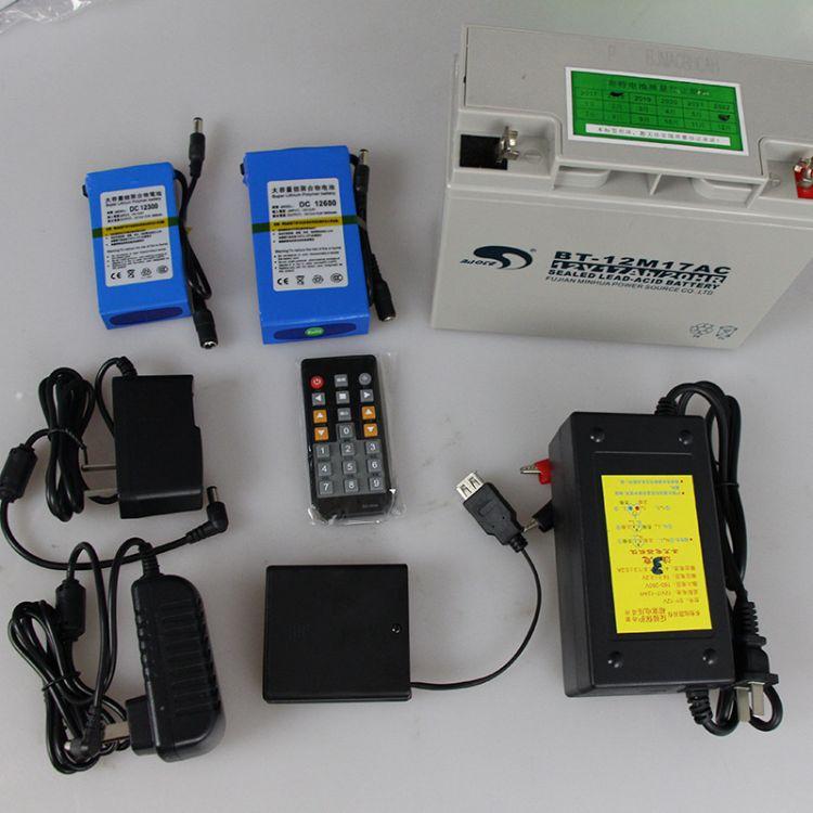 赣鑫配件12V锂12V蓄电池计时器专用配件外接电源遥控器电池盒