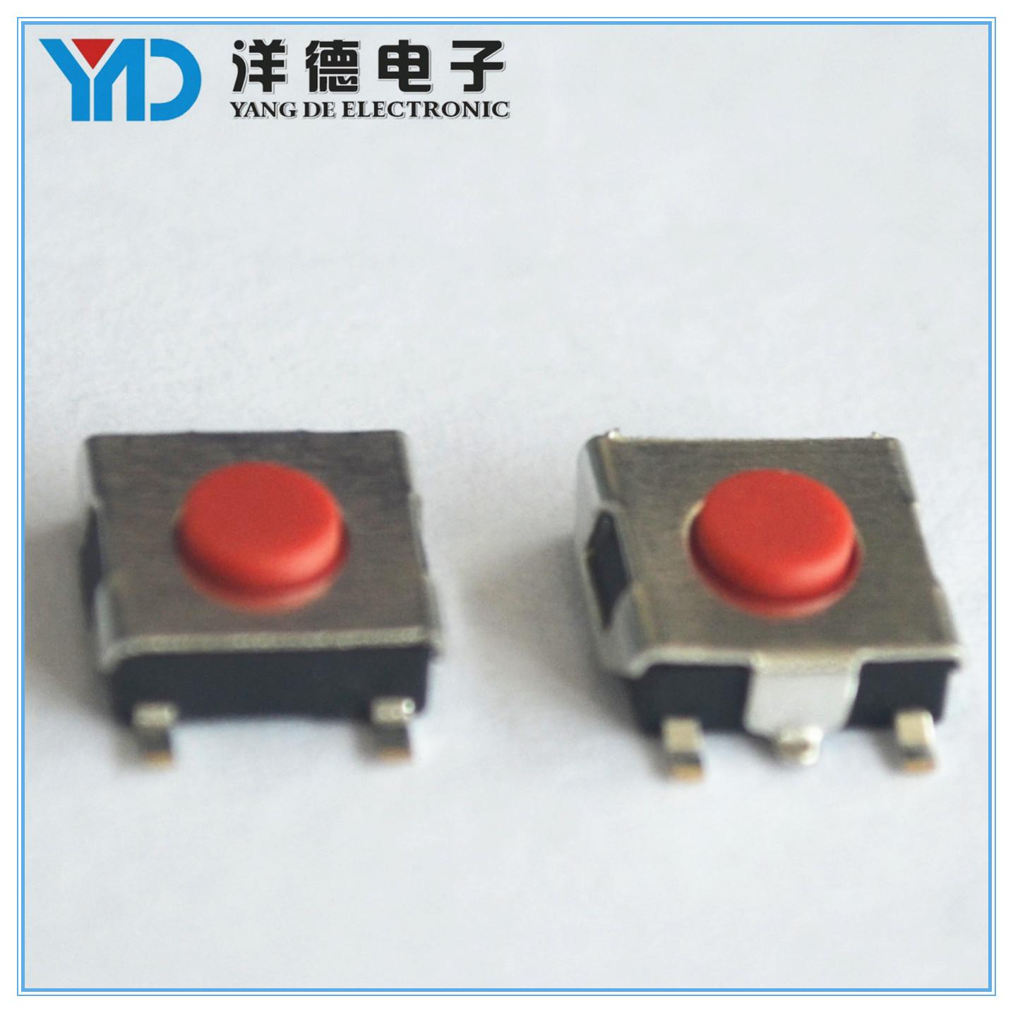 厂家供应6.2*6.2*2.5贴片轻触按键开关 各类环保耐温轻触开关