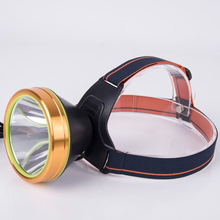 迷你强光充电灯 分体式头灯狩猎头戴式手电筒 户外应急检修灯