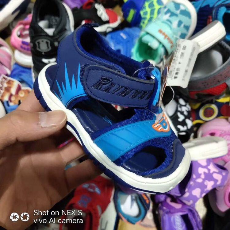 厂家直销巴布豆童凉鞋 量大优惠处理价多色可爱舒适巴布豆童凉鞋