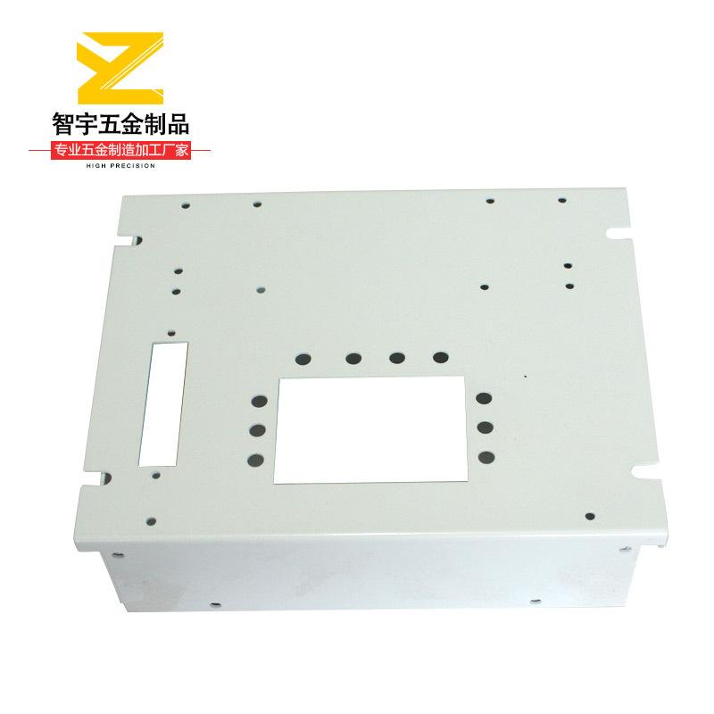 标准2U网络机柜 机箱机柜H型大撑脚铝合金机箱定制加工