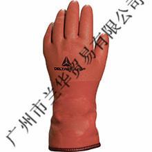 代尔塔 VE760 201760 橙色 PVC 防寒硫化手套 30厘米长 耐寒