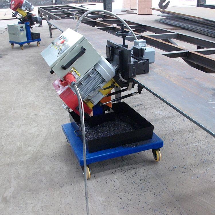 电动坡口机 供应自动铣边机坡口机可加工不锈钢电动坡口机 批发