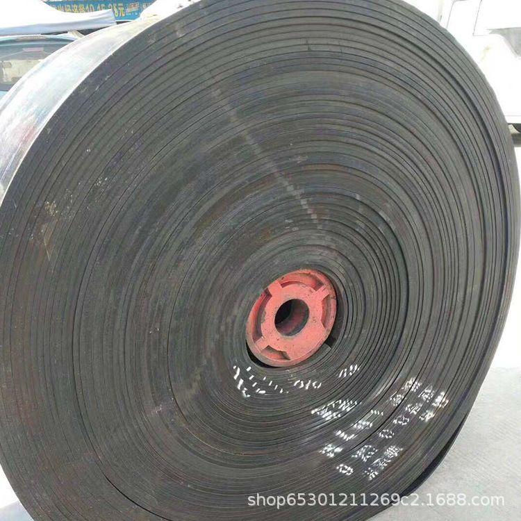 尼龙输送带 耐磨耐高温橡胶输送带人字花纹输送带 无缝环形输送带