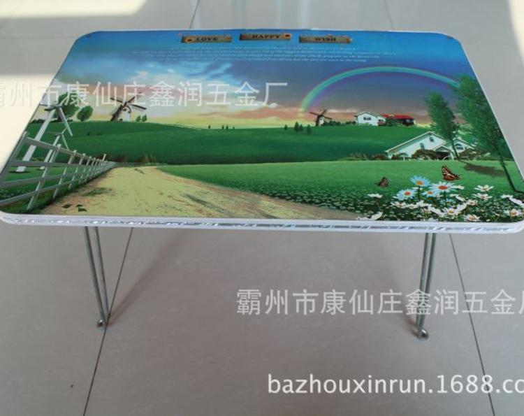 促销 彩色卡通图案折叠式韩版床上书桌厂价批发定制