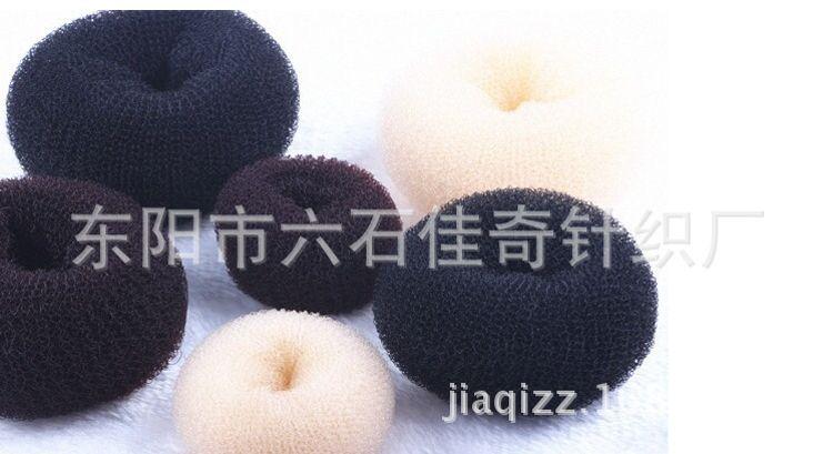 韩版新款丸子头甜甜圈公主头花苞头盘发器 美发工具 厂家直销