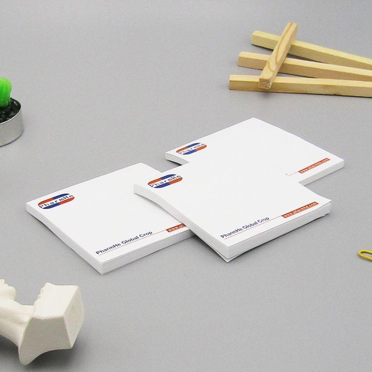 厂家直销定制广告便签本 便利贴订制 便签纸N次贴定做LOGO 小本子