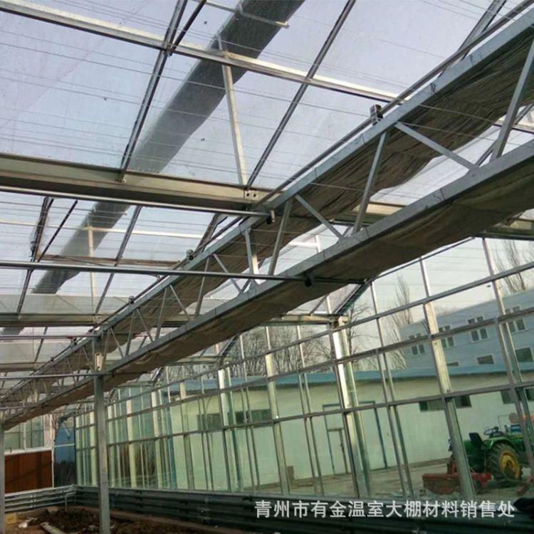 温室大棚骨架 小型农用热浸镀锌大棚钢管蔬菜大棚骨架配件 定制