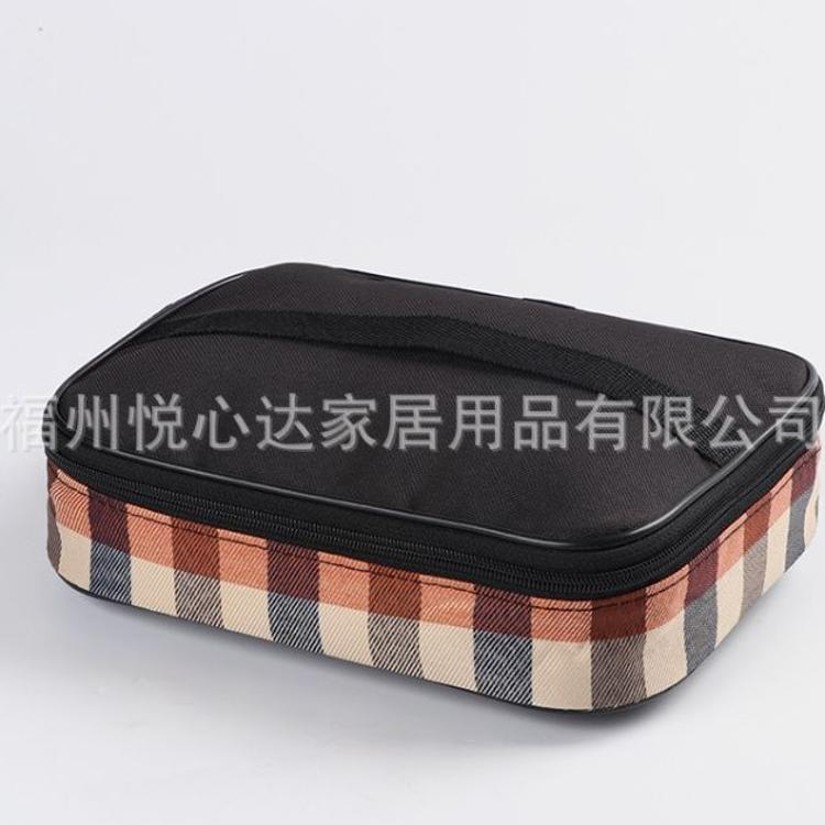 加厚保温隔热饭盒袋 防水牛津便当包带饭的手提袋 厂家直销可定制