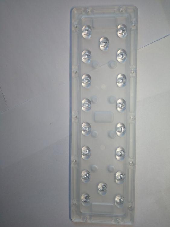 防流明十八合一9*2 CREE9x2 LED路灯透镜 投光灯LED组合透镜 18*1