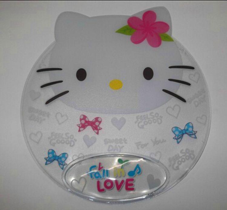 护手鼠标垫  彩色印刷PVC鼠标垫可定做