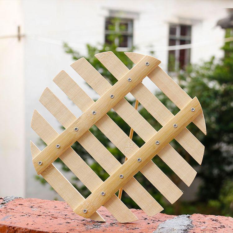 圆形蒸锅竹篦子 家用竹蒸笼垫子 热馒头蒸格 蒸屉批发赶集热卖