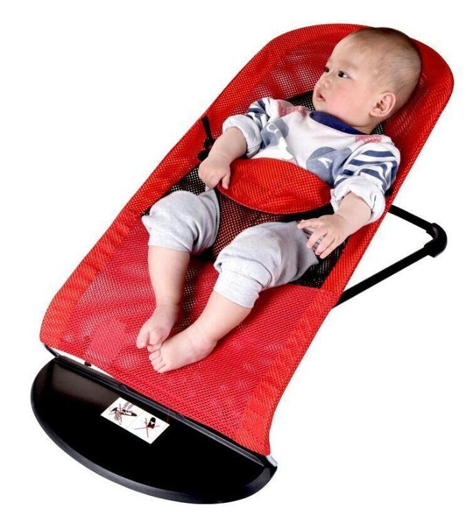哄睡神器宝宝婴儿摇摇椅安抚摇床哄睡躺椅哄宝神器平衡椅一件代发