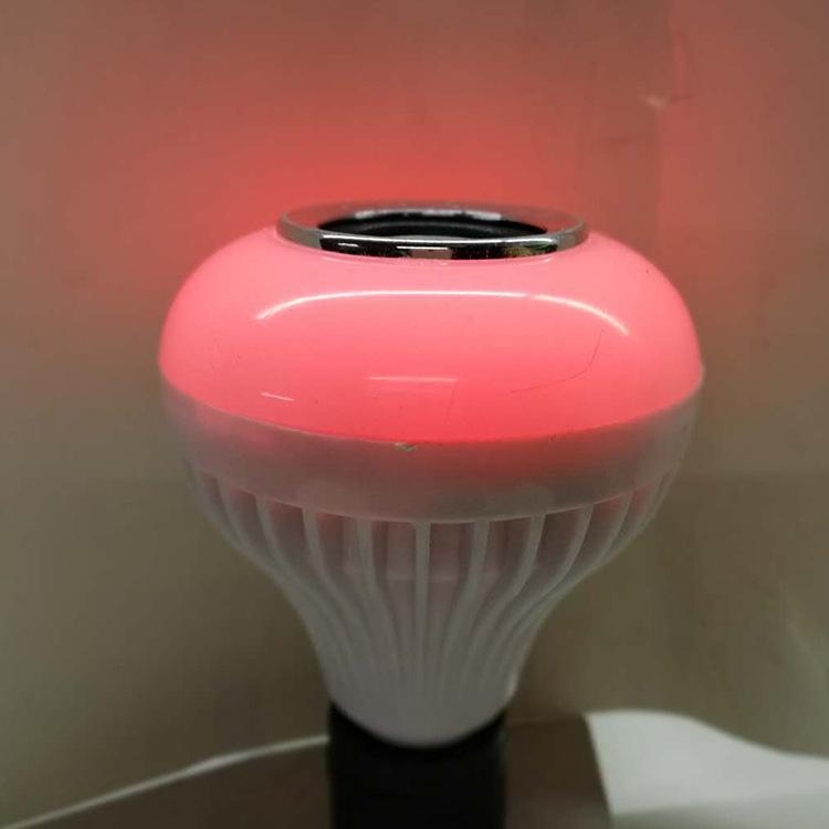 无线蓝牙音乐球泡灯智能LED灯七彩音乐灯泡舞台灯