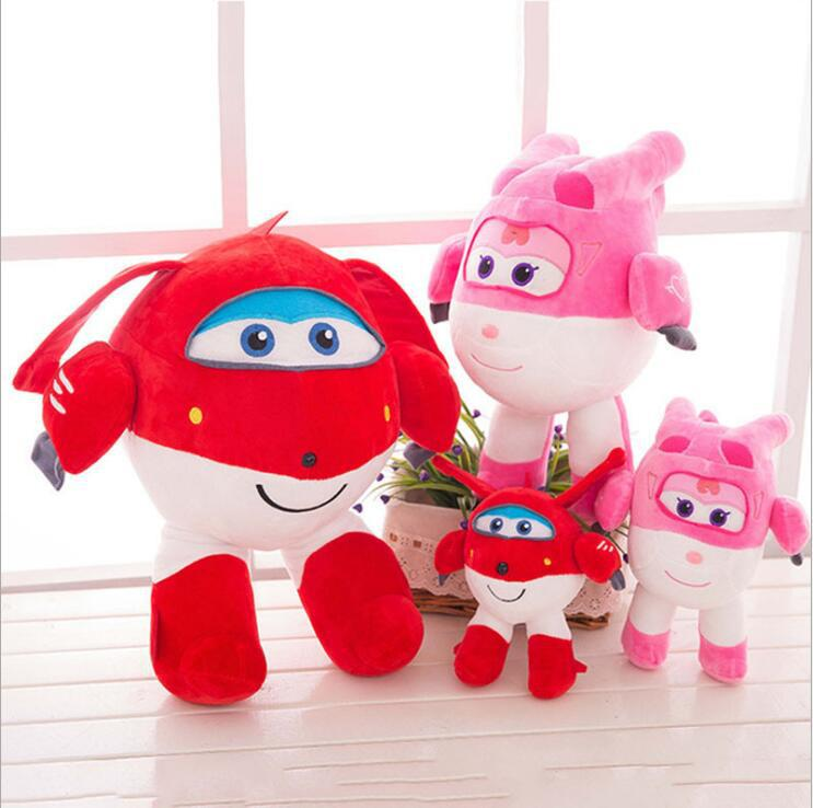 厂家直销超级飞侠毛绒玩具乐迪小爱抱枕公仔布娃娃儿童生日礼物