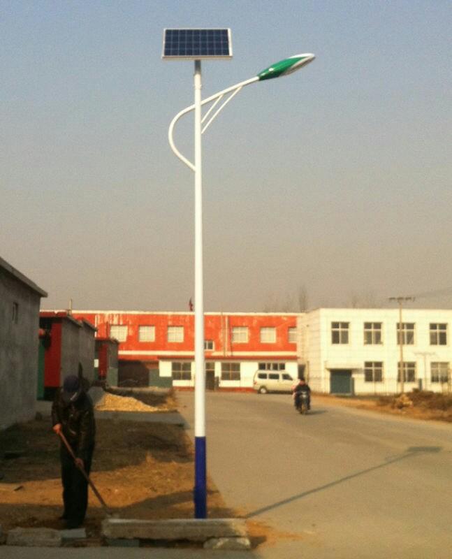 绿森直销太阳能LED路灯太阳能庭院灯景观灯