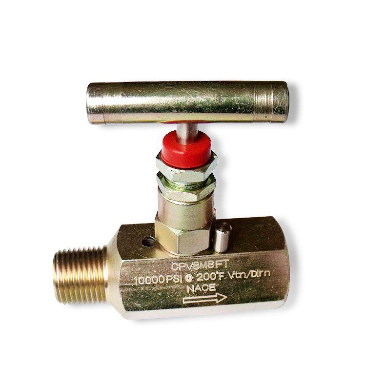 批发不锈钢外螺纹针阀焊接式截止阀外套螺母接管手动针阀