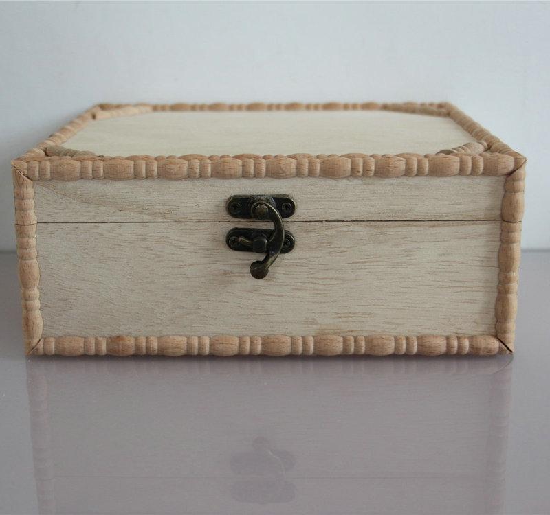 实木仿古茶叶盒 创意花茶包装盒 定做批发松木茶叶空礼盒
