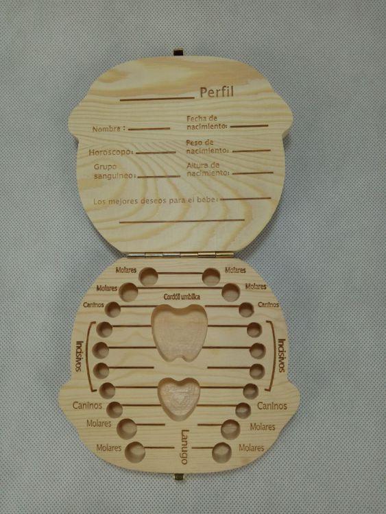 牙盒木制宝宝胎毛牙齿收藏盒 婴儿脐带收藏盒 儿童胎毛乳牙盒