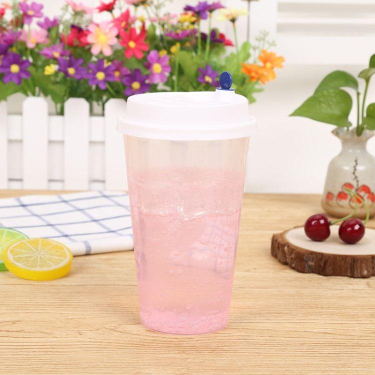 苏州顺洁欣-带盖杯子 营销新品厂家批量销售优质商家精品特惠价格实惠 冷饮奶茶杯